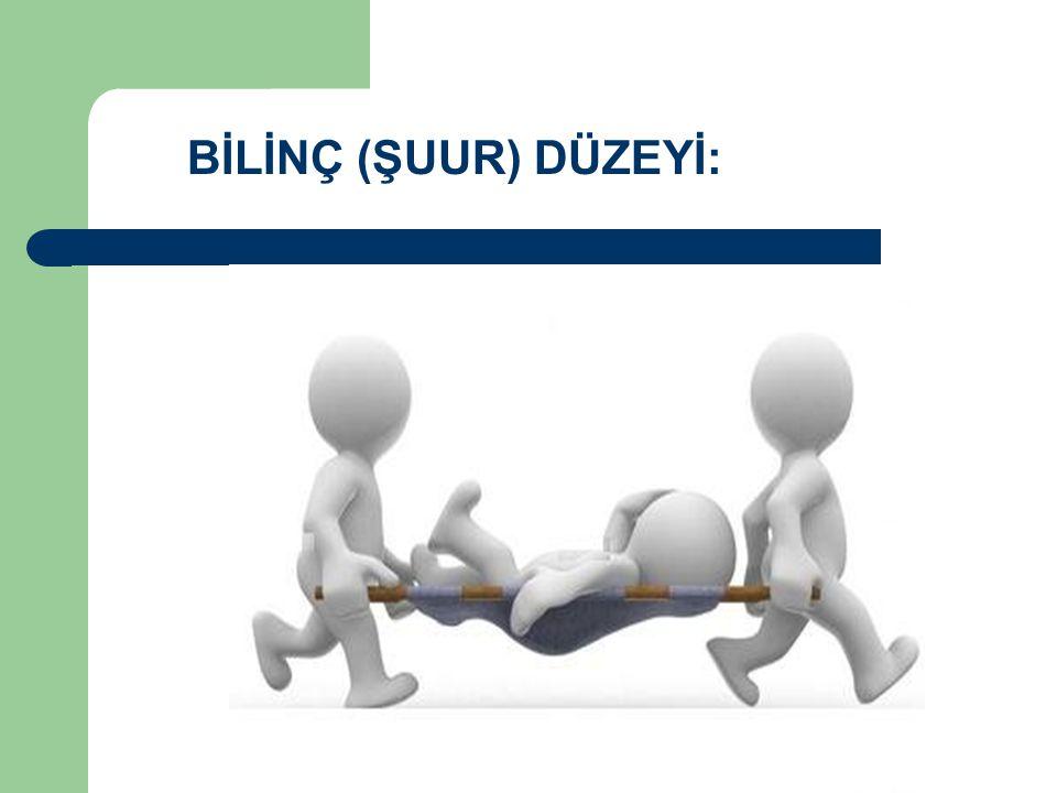 BİLİNÇ (ŞUUR) DÜZEYİ: