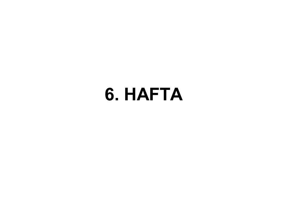 6. HAFTA
