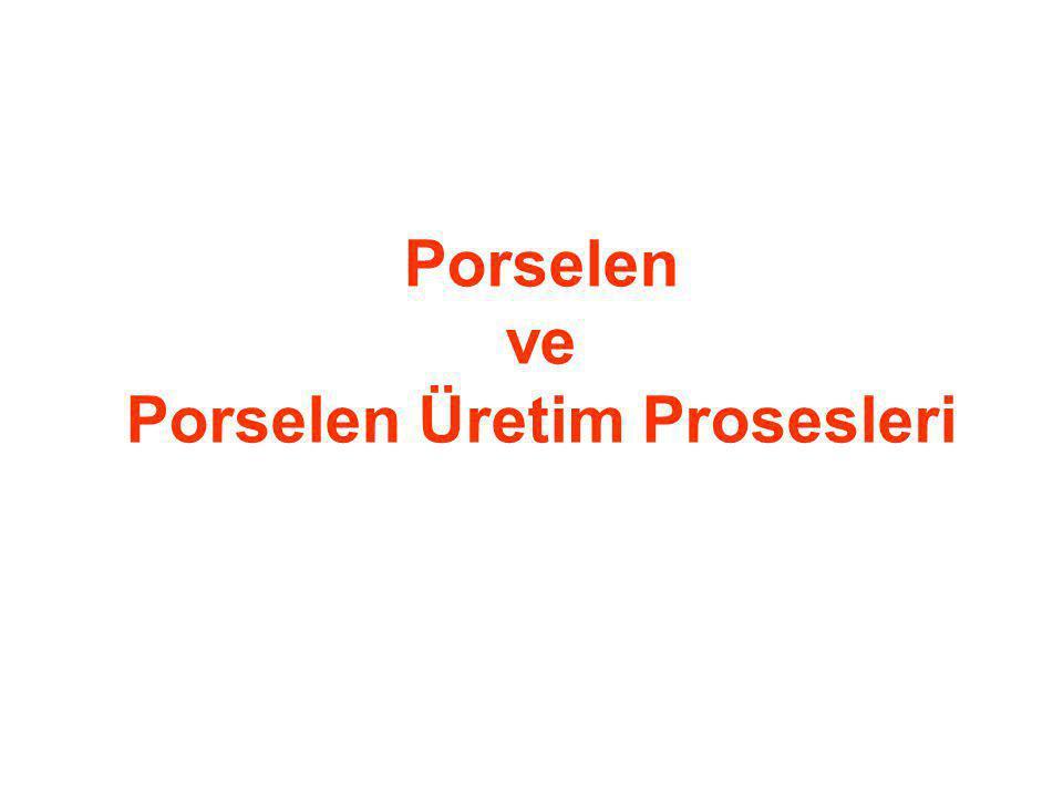 Porselen ve Porselen Üretim Prosesleri