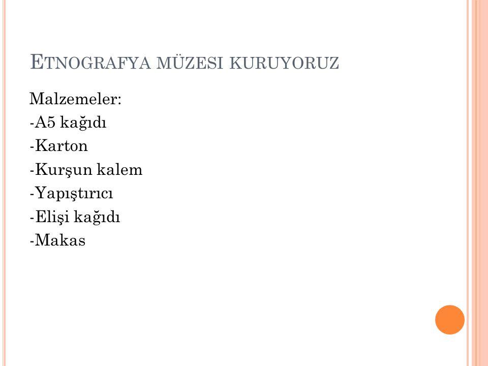 K AZANıMLAR 2.
