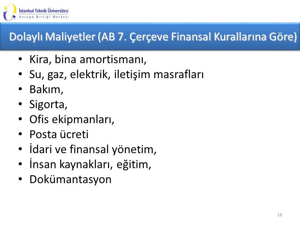 Dolaylı Maliyetler (AB 7.