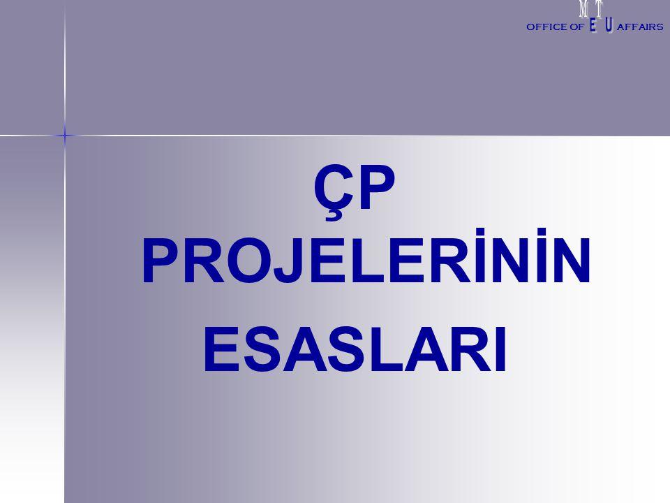 ÇP PROJELERİNİN ESASLARI OFFICE OFAFFAIRS