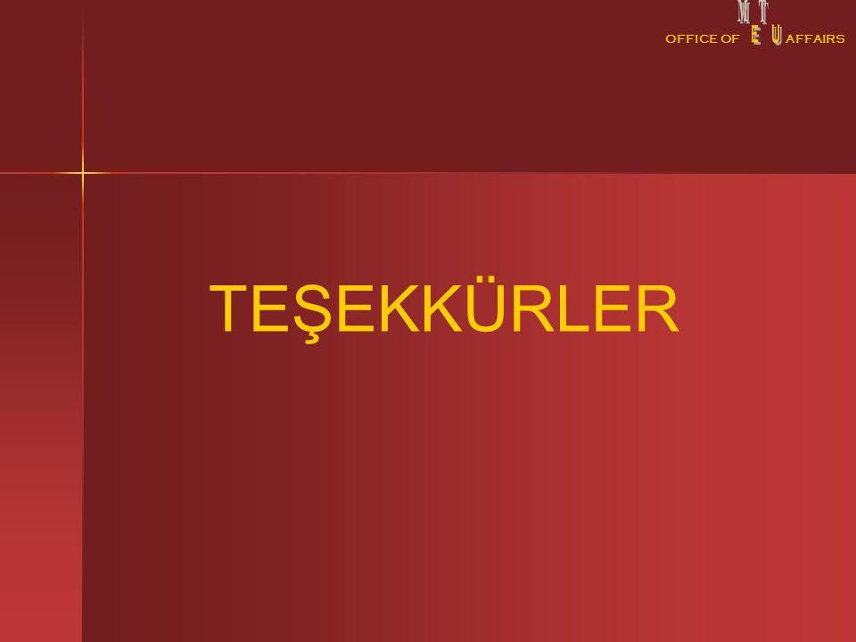 OFFICE OFAFFAIRS TEŞEKKÜRLER