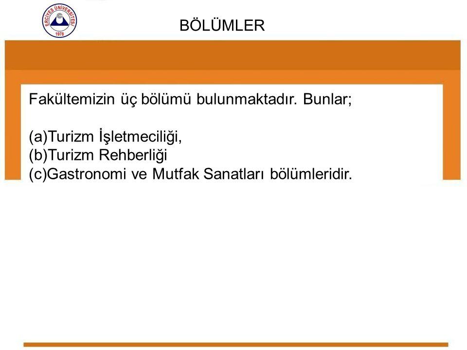 Bu bölümün tarihçesi 2005 yılında kurulmuş olan Türkan - Tuncer Hasçalık Turizm İşletmeciliği ve Otelcilik Yüksekokulu na dayanmaktadır.