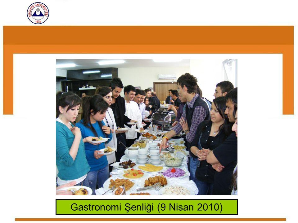 Gastronomi Şenliği (9 Nisan 2010)