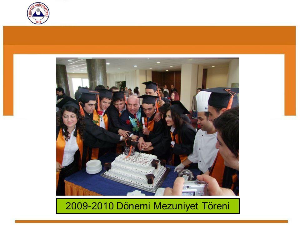 2009-2010 Dönemi Mezuniyet Töreni