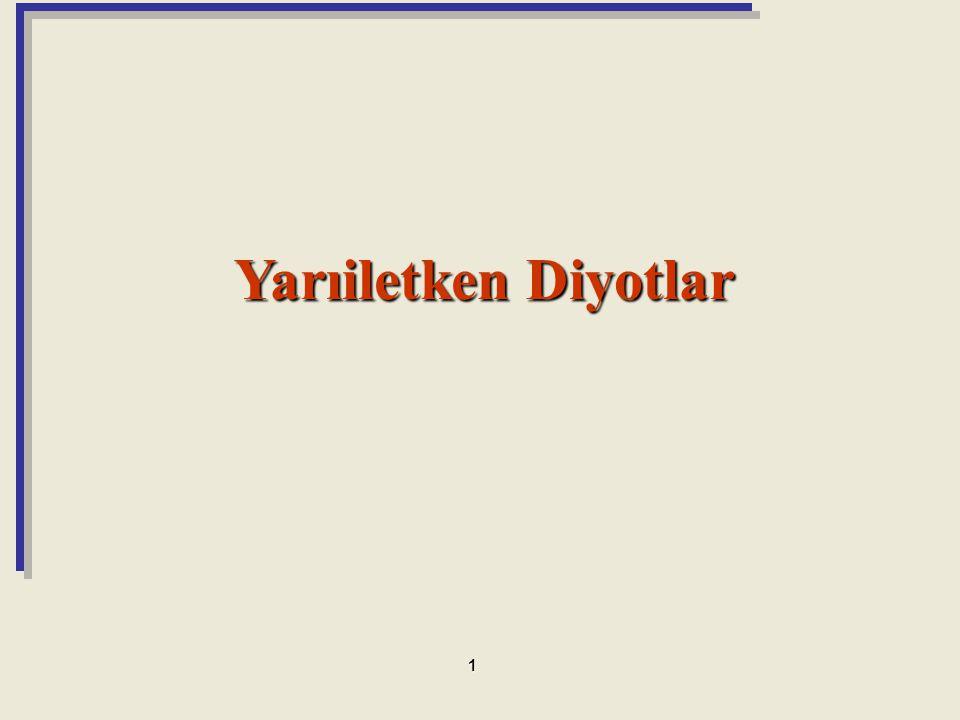 DC – Statik Direnç Uygulanan belirli bir DC gerilim V D ve belirli bir I D akım değerleri için tanımlanan direnç DC dirençtir.