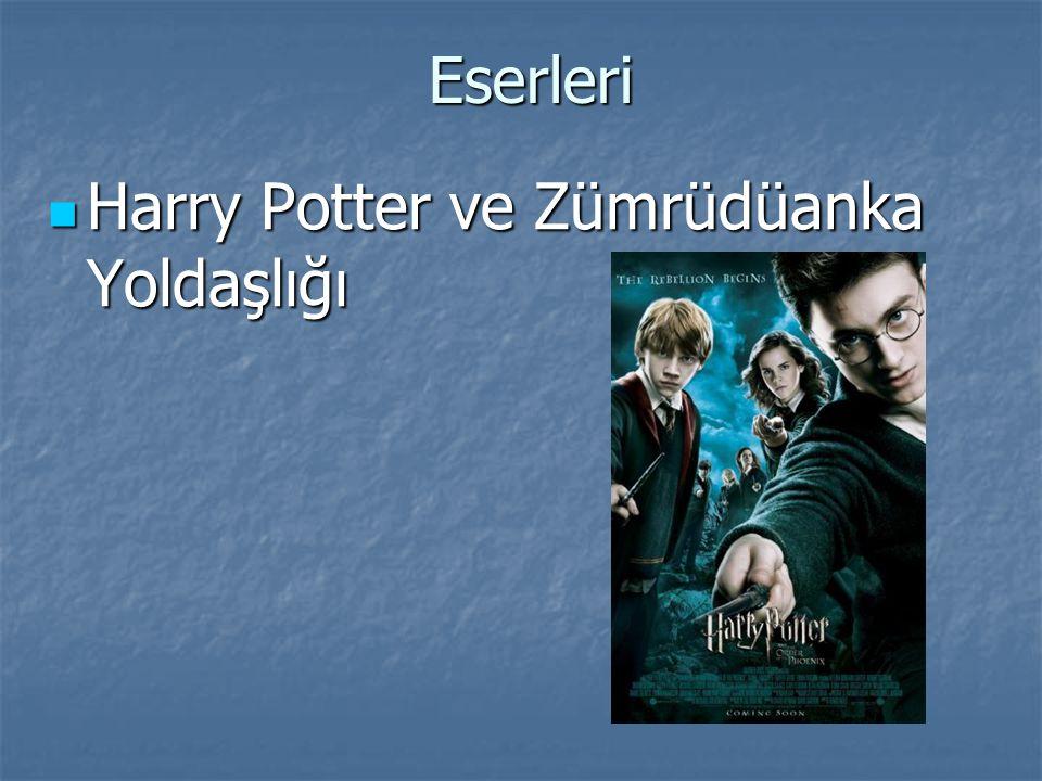 Eserleri Harry Potter ve Zümrüdüanka Yoldaşlığı Harry Potter ve Zümrüdüanka Yoldaşlığı