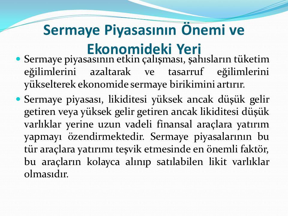 Cumhuriyet Döneminde Sermaye Piyasası Türkiye de yaşanan bu krizin etkisiyle 1981 yılında çıkarılan 2499 sayılı Sermaye Piyasası Kanunu ile sermaye piyasası yeniden düzenlenmiştir.