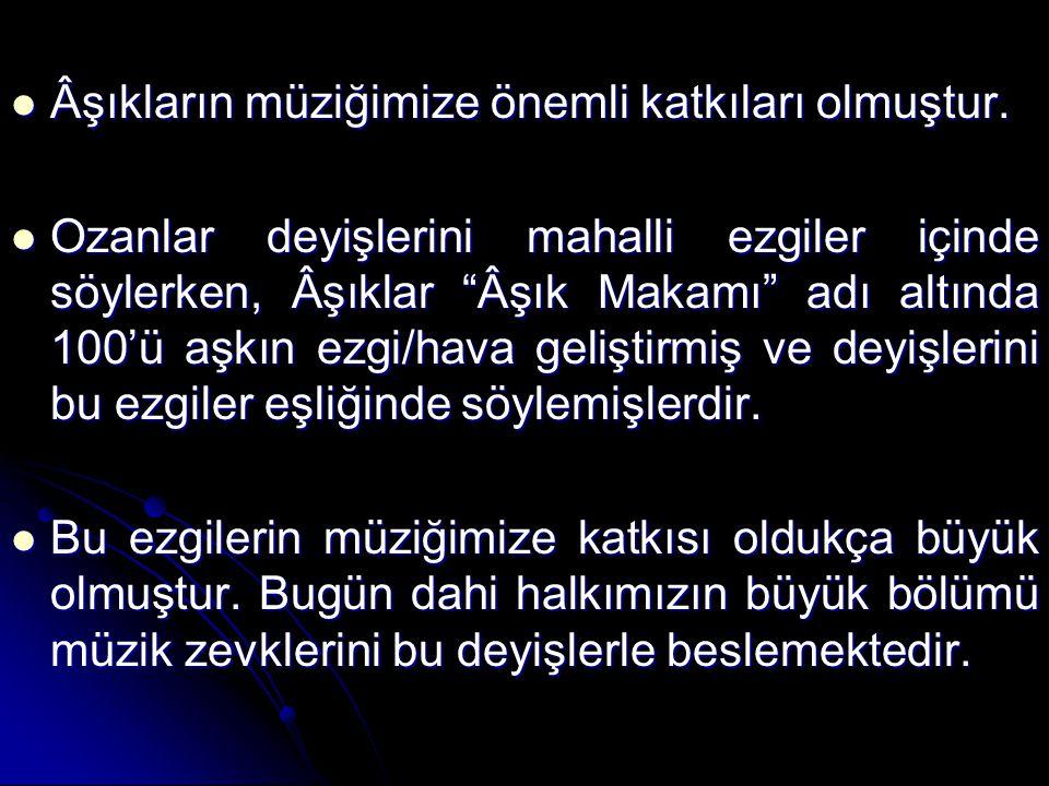 Günümüzde Ozan ve Âşık kavramları pek fazla ayırt edilmeden birbirinin yerine kullanılmakta ve ikisi de halk şairi, saz şairi olarak nitelendirilmektedir.