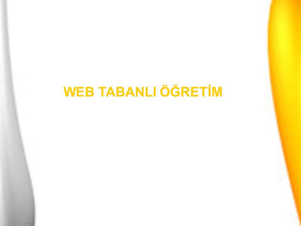 Web Tabanlı Eğitimin Tanımı Uzaktan Eğitimin Tanımı ve Tarihçesi E-öğrenme Kavramı Uzaktan Eğitim ile E-öğrenme İlişkisi Türkiye'de Web Tabanlı Eğitim Web Tabanlı Eğitimin Avantajarı WTE Türkiye'deki Örnekleri WTE Teknolojileri WTE Altyapısı KONU BAŞLIKLARI