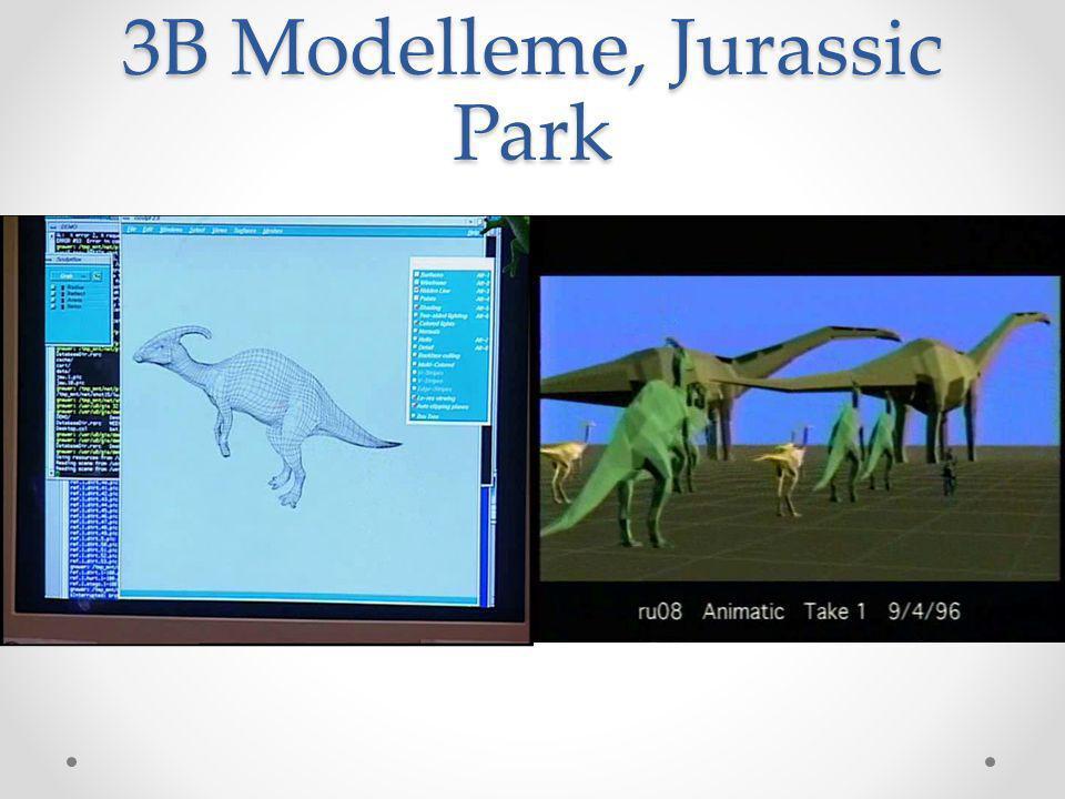 3B Modelleme, Jurassic Park