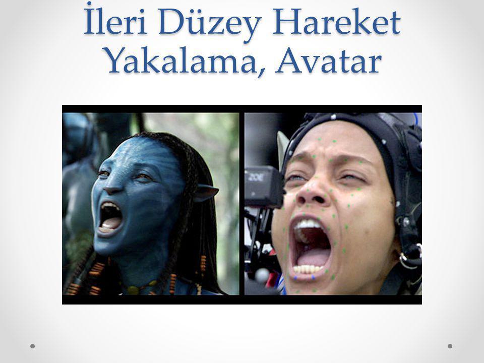 İleri Düzey Hareket Yakalama, Avatar