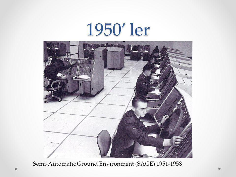 1960' lar 1961: MIT mezunu Steve Russell PDP-1 () bilgisayarı için ilk bilgisayar oyunlarından olan Spacewar oyununu geliştirmiştir.