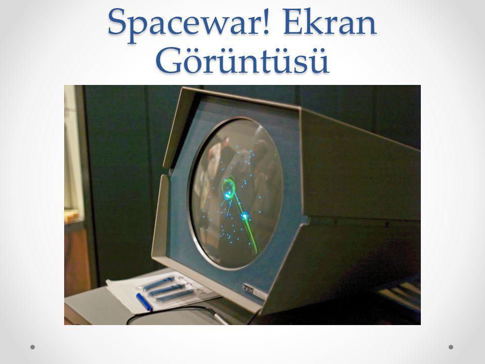 Spacewar! Ekran Görüntüsü
