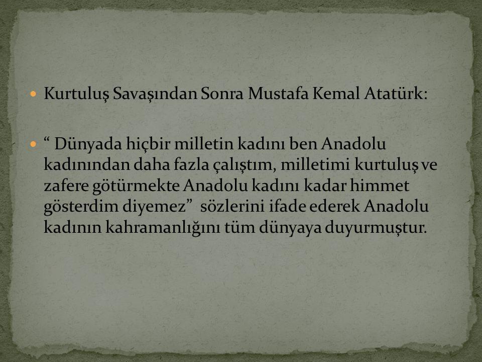 İlk kadın bakan: Prof.Dr. Türkan Akyol İlk kadın muhtar: Meliha Manço İlk kadın başbakan: Prof.