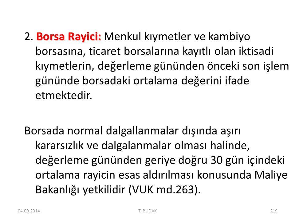 Borsa Rayici: 2.
