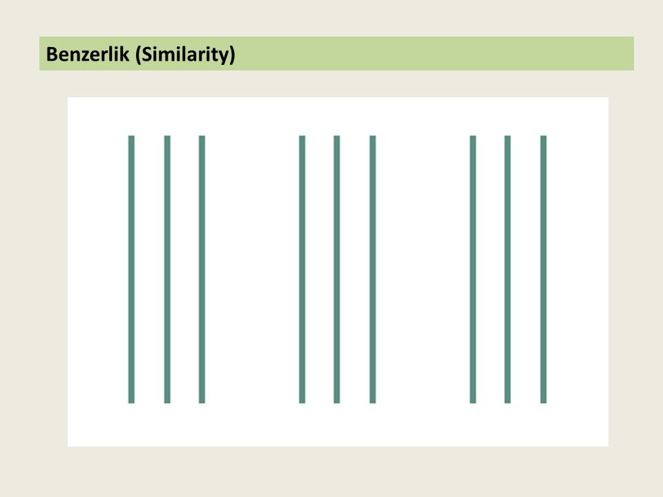 Benzerlik (Similarity)