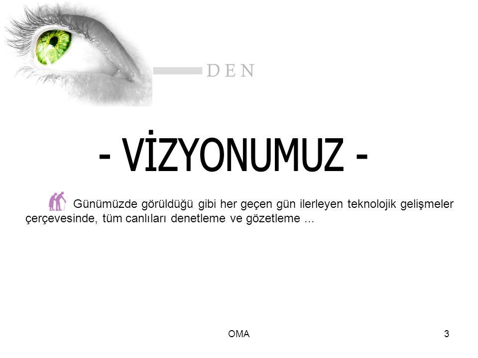 OMA4 Gözetleme ve Denetleme Sistemi