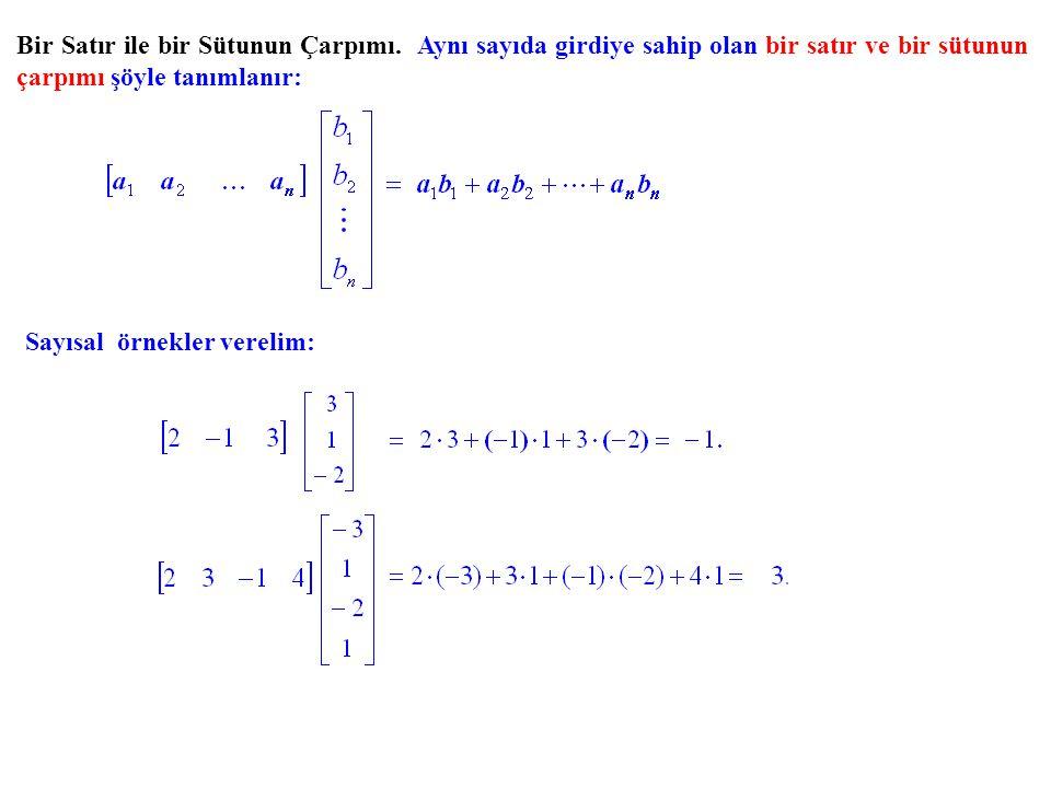 Denklem sayısı değişken sayısına eşit olan bir sistemin bir ve yalnız bir çözümü olması için gerek ve yeter koşul, sistemin ilaveli matrisinin indirgenmiş biçimindeki sütun sayısının sıfırdan farklı satır sayısından bir fazla olması, yani hiç sıfır satırı bulunmamasıdır ki, bu, sistemin katsayılar matrisinin indirgenmiş biçiminin birim matris olmasına denktir.