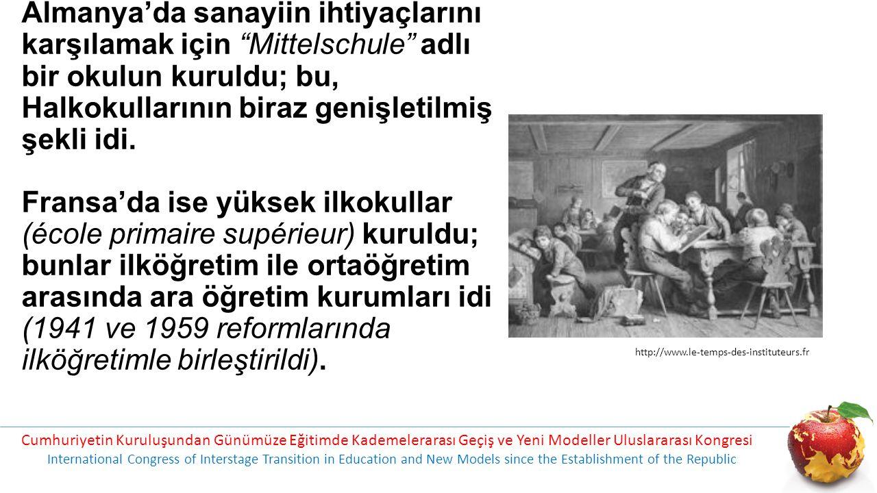 16.yüzyılın en büyük eğitim olayı, ortaöğretimin gelişmesidir.