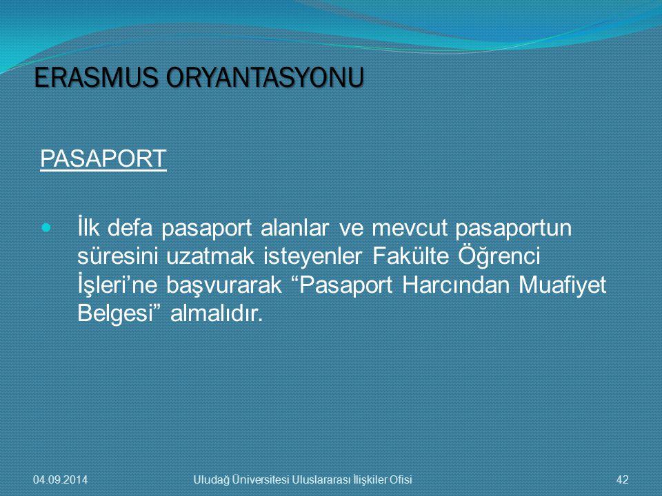 PASAPORT İlk defa pasaport alanlar ve mevcut pasaportun süresini uzatmak isteyenler Fakülte Öğrenci İşleri'ne başvurarak Pasaport Harcından Muafiyet Belgesi almalıdır.
