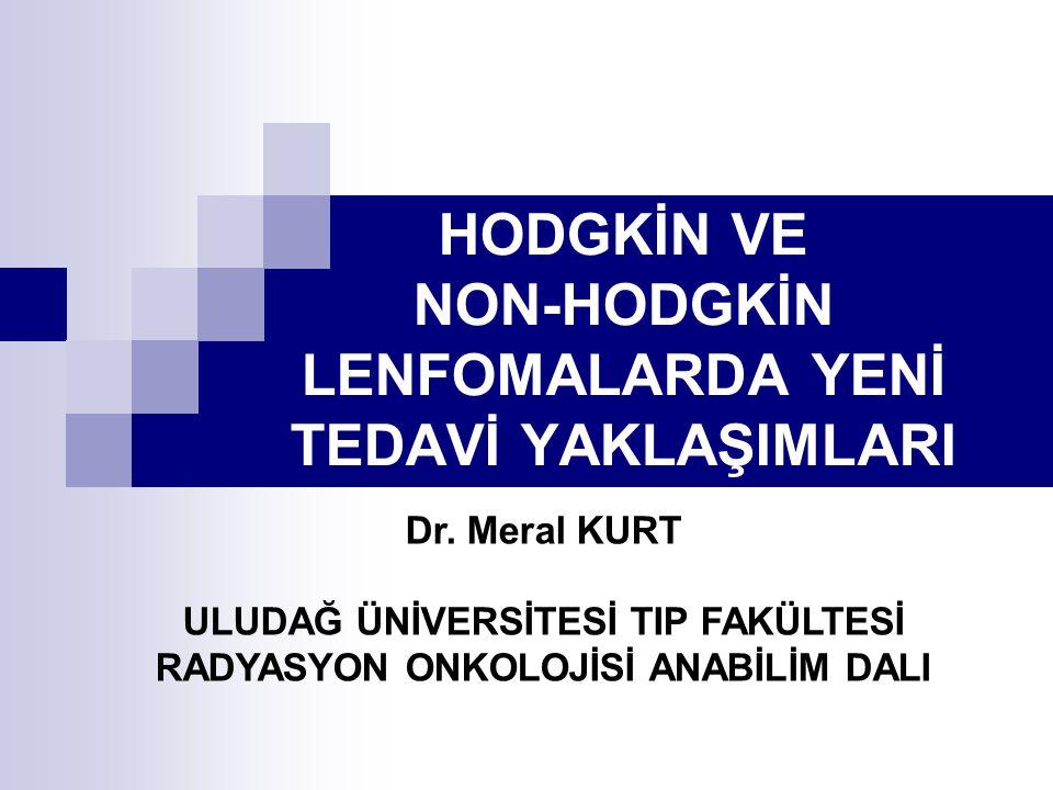 Hodgkin Lenfomada Tedavi Yöntemleri A.Noduler Lenfosit Predominant HL Tedavisi B.