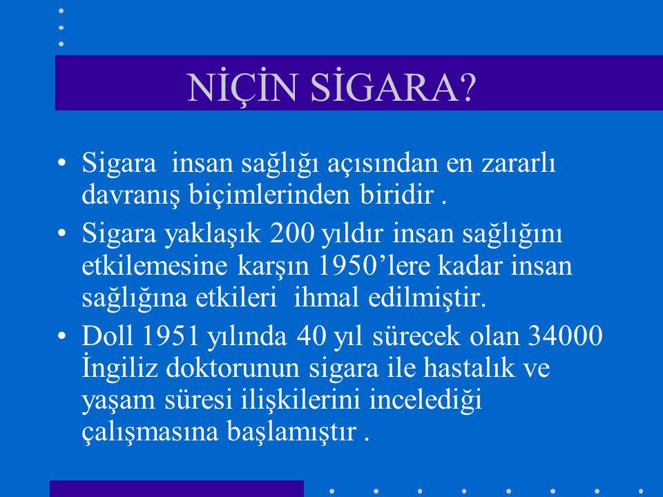 Nikotin Replasman Tedavisi-1 Bir çok çalışma NRT'nin sigara bırakmada başarıyı 2 kat arttırdığını göstermiştir.