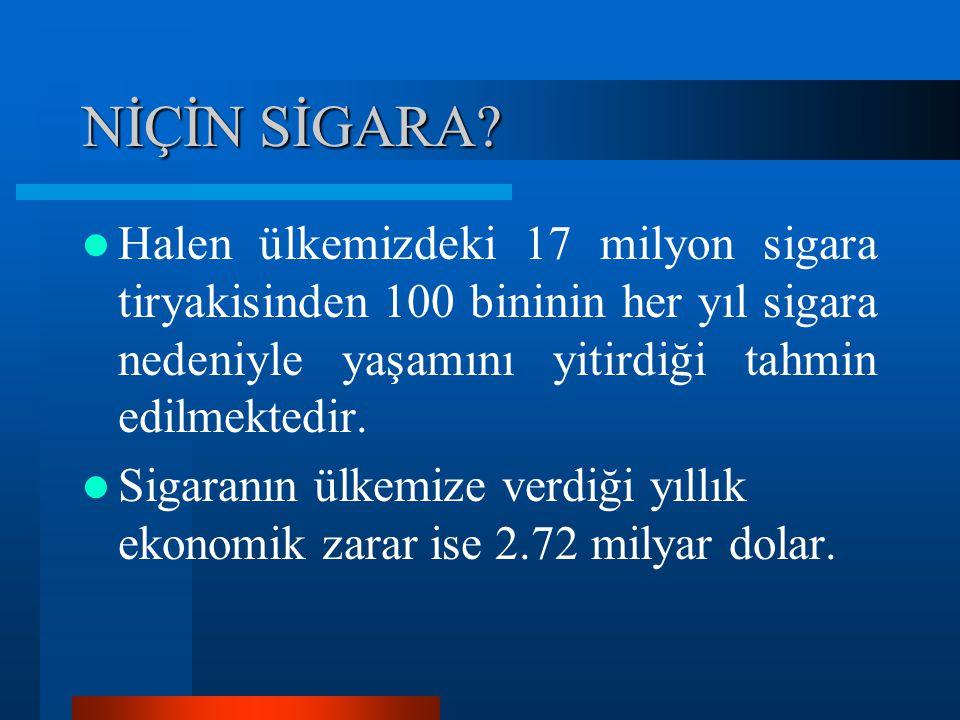 Yoğun Klinik Görüşmeler 1)Sigarayı bırakmak isteyen tüm sigara içicilere yoğun bir tedavi programı uygulanmalıdır.