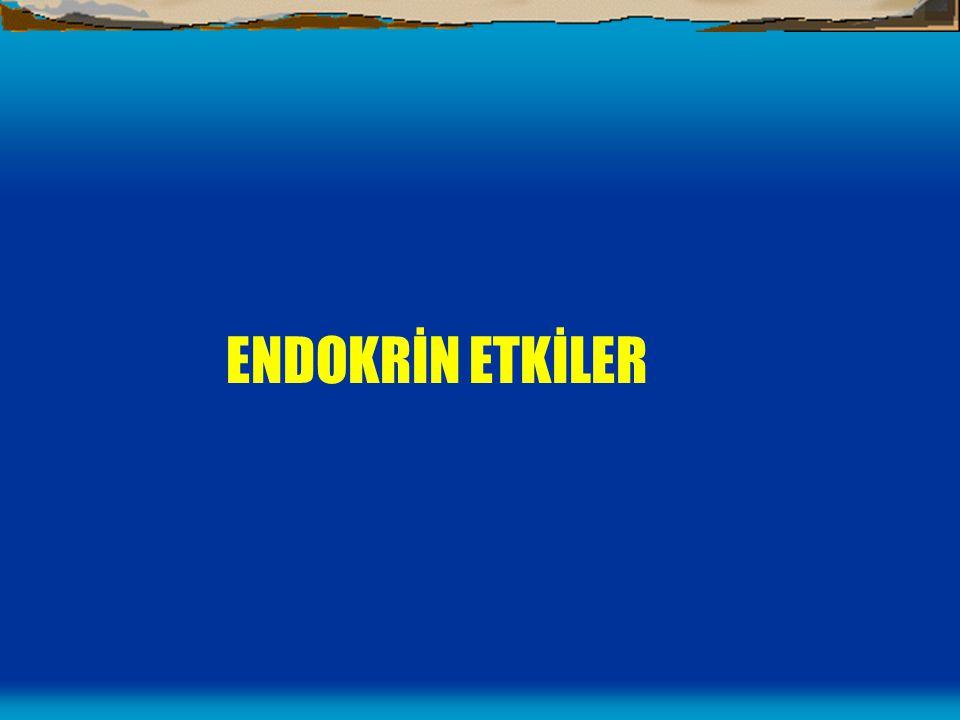 ENDOKRİN ETKİLER