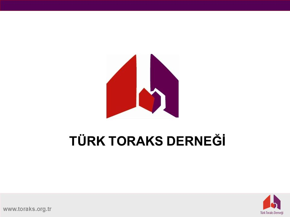 www.toraks.org.tr TÜRK TORAKS DERNEĞİ