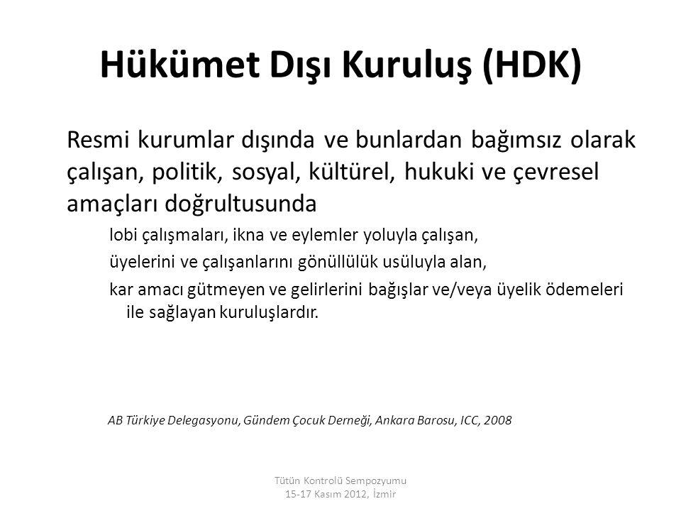 Tütün Kontrolü Sempozyumu 15-17 Kasım 2012, İzmir http://www.dkfz.de/en/index.html