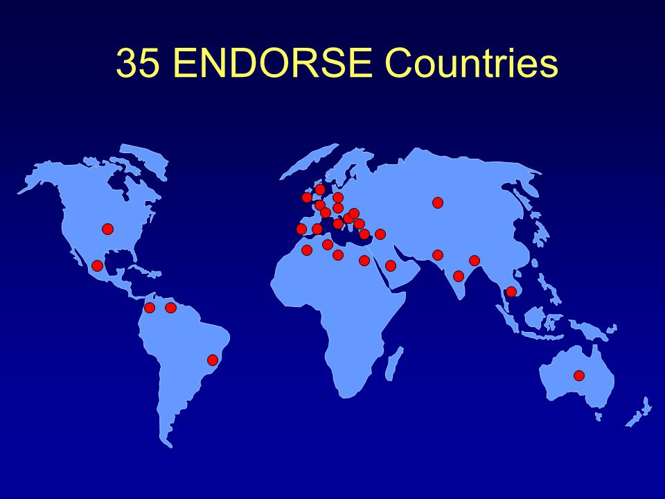 35 ENDORSE Countries
