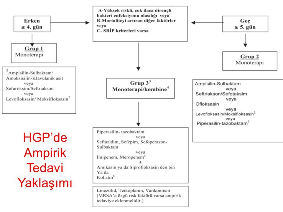 HGP'de Ampirik Tedavi Yaklaşımı