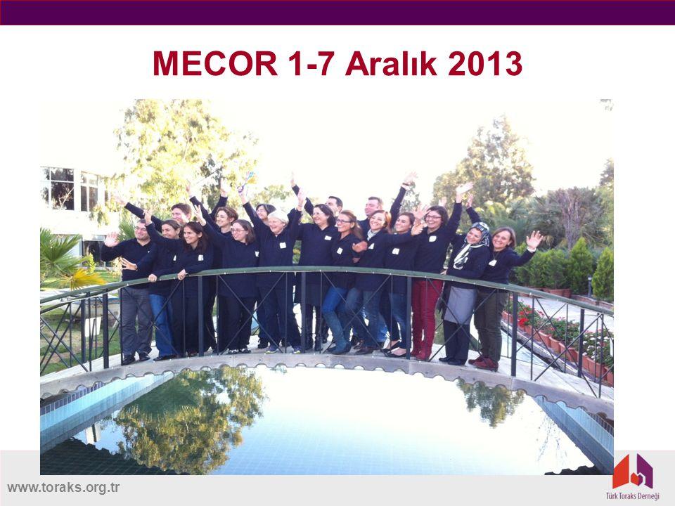 www.toraks.org.tr MECOR 1-7 Aralık 2013