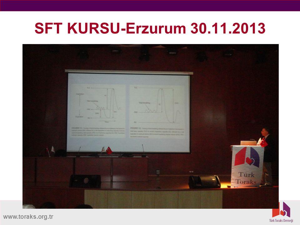 www.toraks.org.tr SFT KURSU-Erzurum 30.11.2013