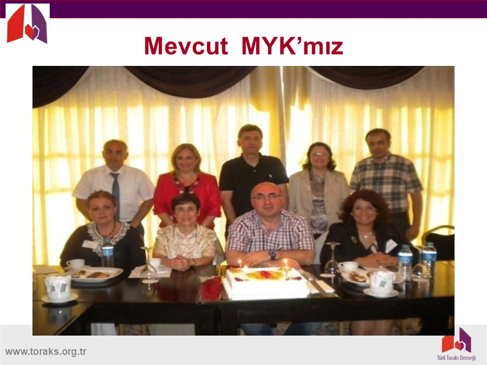 www.toraks.org.tr Mevcut MYK'mız