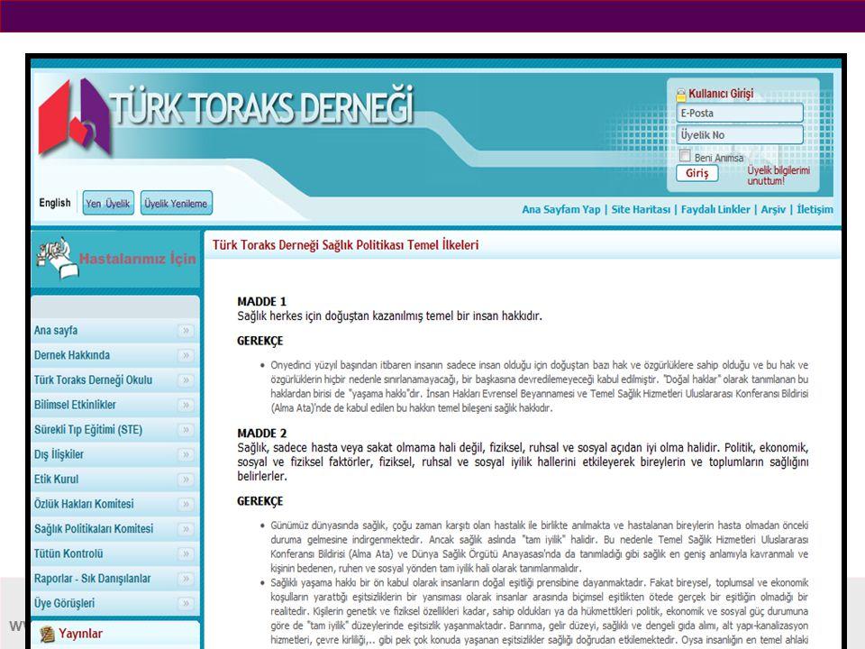 www.toraks.org.tr ARAŞTIRMALARI DESTEKLEMEK  Danışmanlık Sistemi  Yurtiçi Burslar  Araştırma Destek Komitesi  GAYE Programı.