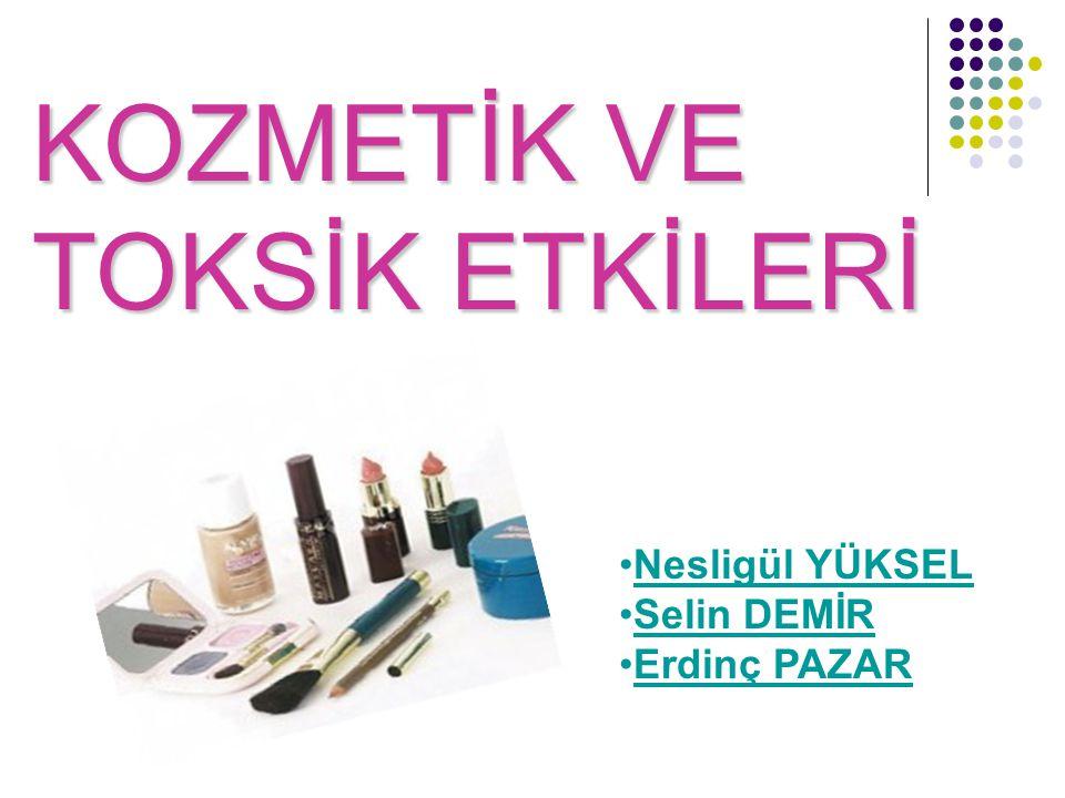  Kaliteli kozmetik ürünlerin içeriklerinin güvenliği için de gerekli programların sağlanması gerekmektedir: Bu yüzden ;
