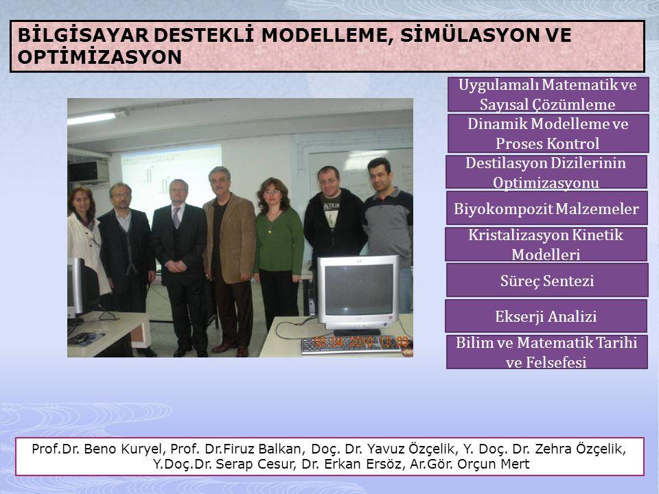 REAKSİYON MÜHENDİSLİĞİ VE TEMEL İŞLEMLER Prof.Dr.Erden Alpay, Dr.