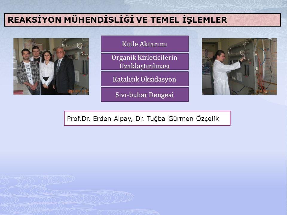TEMEL İŞLEMLER VE ARA YÜZEY OLAYLARI Prof.Dr.Sümer Peker, Prof.Dr.