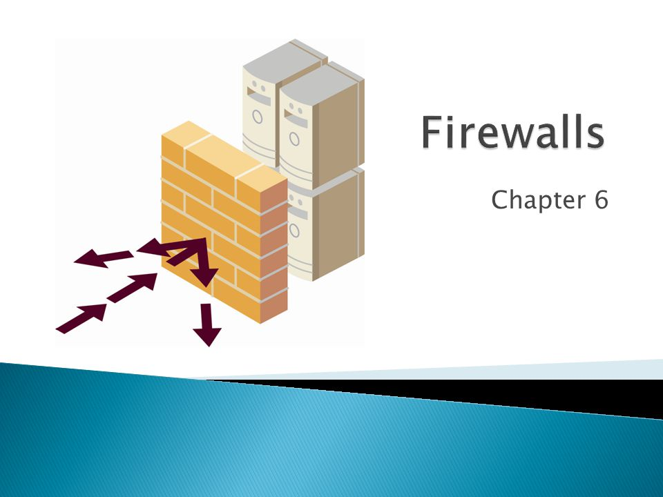 Copyright Pearson Prentice-Hall 2010  Chapter 5 covered many techniques for access control  This chapter will discuss an additional tool for access control—firewalls  Firewalls filter out traffic that consists of provable attack packets 2