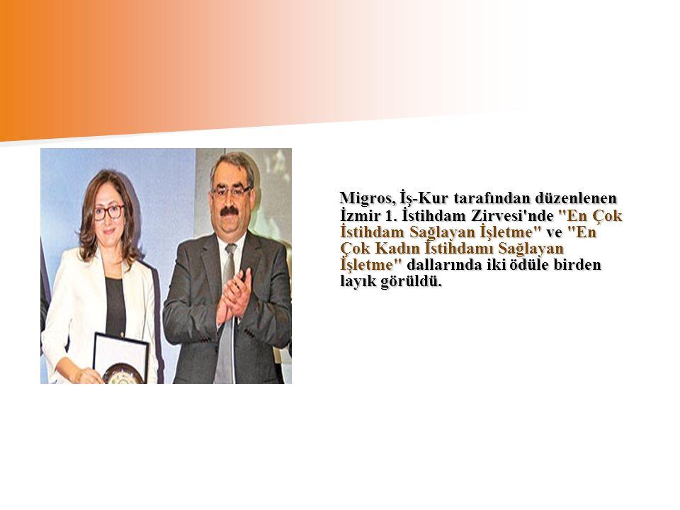 Migros, İş-Kur tarafından düzenlenen İzmir 1. İstihdam Zirvesi'nde