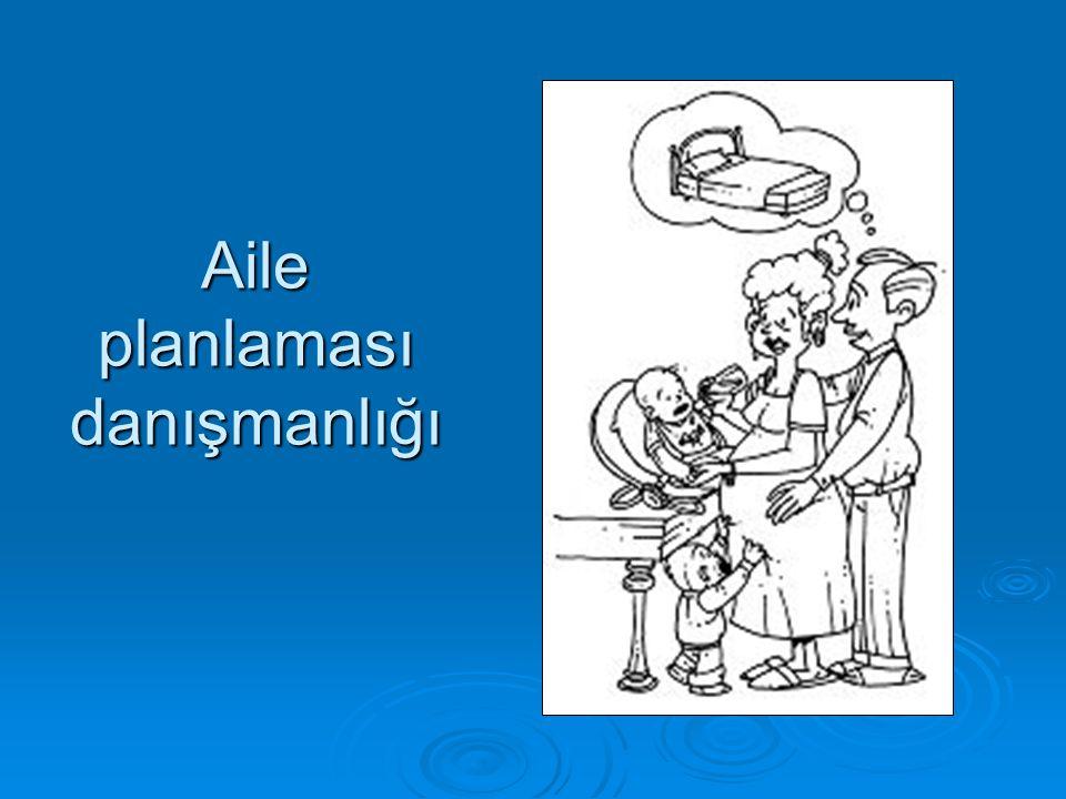 Aile planlaması danışmanlığı
