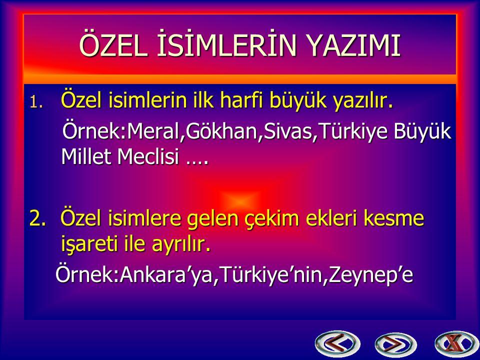 İSİM(AD) ÇEŞİTLERİ Eşi ve Benzeri olmayan varlıklara verilen isimlere denir. Örnek:Tekir,Ali,Ankara Cumhuriyet Bayramı vb. Varlıklara Verilişlerine Gö