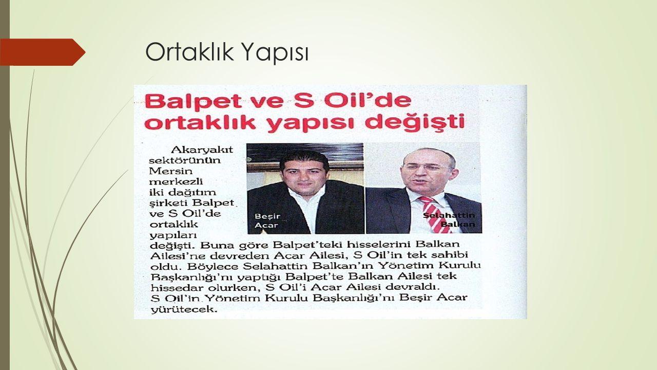Hizmetleri;  Türkiye nin her noktasına Güvenilir ve kesintisiz ikmal güvencesi  S Oil nakliyesiyle üründe kalite ve miktar garantisi  S Oil nakliyesiyle sigortalı taşımacılık  Tesis yapımında mühendislik hizmeti desteği  Danışmanlık  Eğitim ve Satış Destek Kredisi