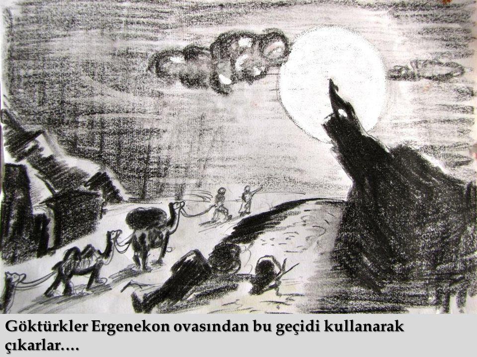 Göktürkler Ergenekon ovasından bu geçidi kullanarak çıkarlar.…