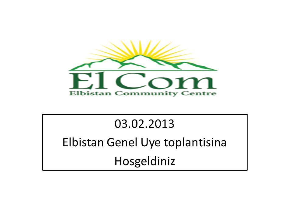 03.02.2013 Elbistan Genel Uye toplantisina Hosgeldiniz