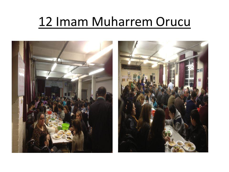 12 Imam Muharrem Orucu