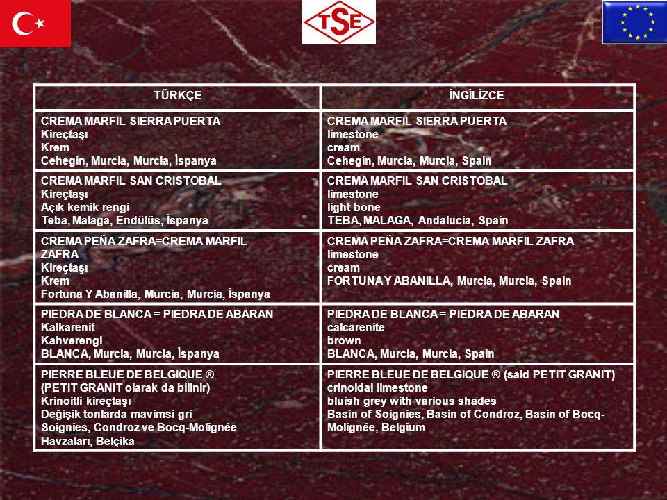 TÜRKÇEİNGİLİZCE CREMA MARFIL SIERRA PUERTA Kireçtaşı Krem Cehegín, Murcia, Murcia, İspanya CREMA MARFIL SIERRA PUERTA limestone cream Cehegín, Murcia,